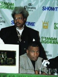Don King mit Mike Tyson