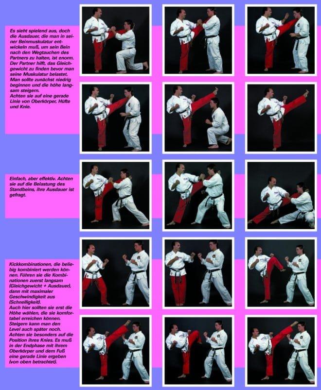 Stretching Partnerübungen