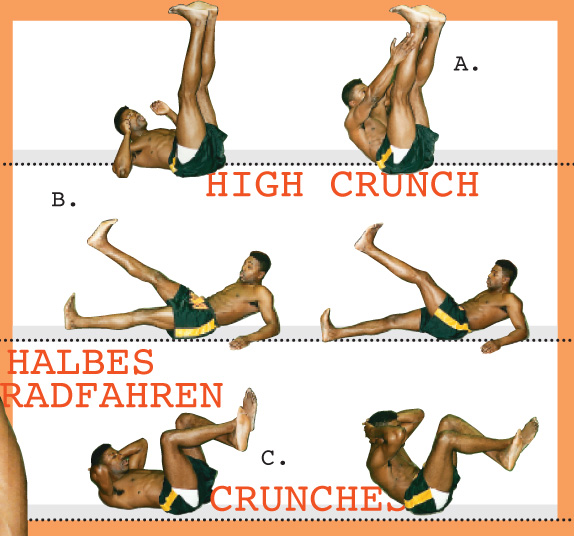 Bauchmuskel Training