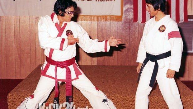 Elvis mit Meister Khang Ree