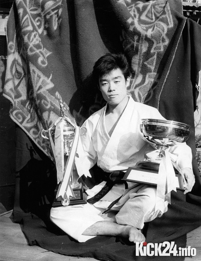 All Japan Karate Champion Demura