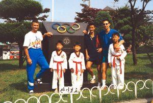 TKD Training in Seoul