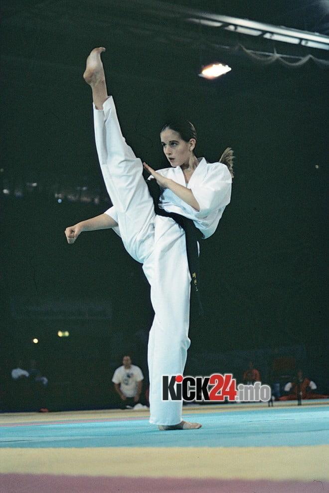 High Karate Kick