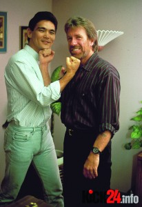 Chuck Norris mit Don Wilson