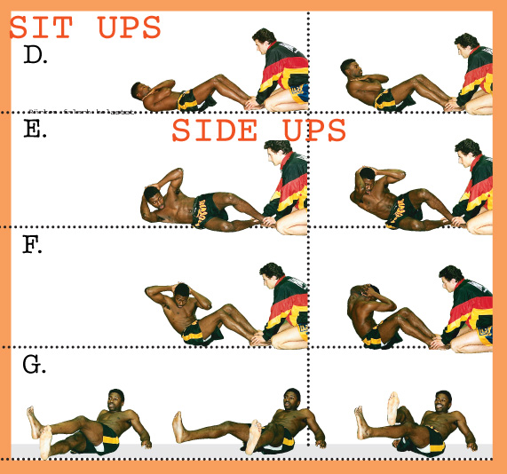 Bauchmuskel Training Kickboxen