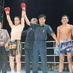 Ahanpa loss Muay Thai