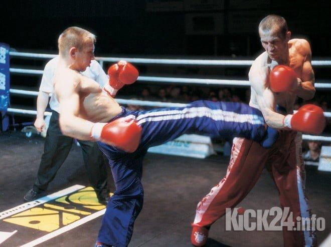 Lobos Suda kickboxer