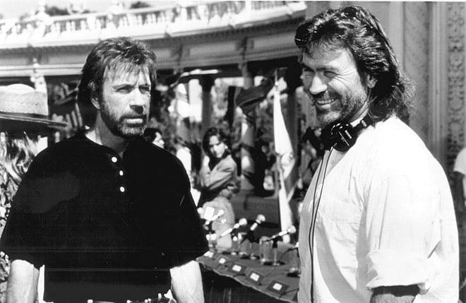 Chuck Norris und Aaron Norris