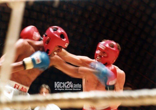 Mack vs. Gill kickboxen