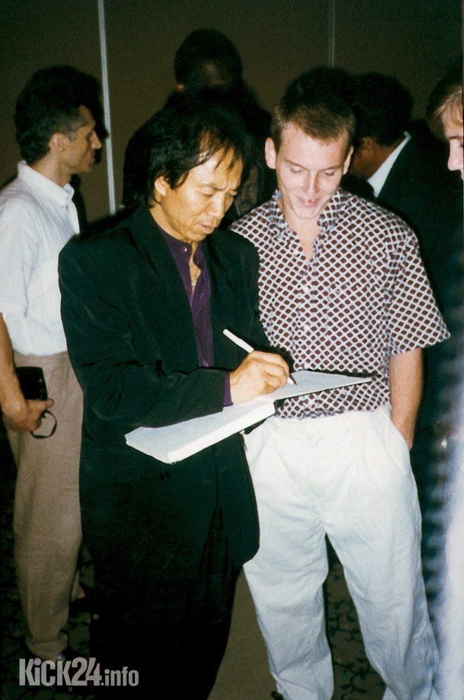Aric Lee autograph