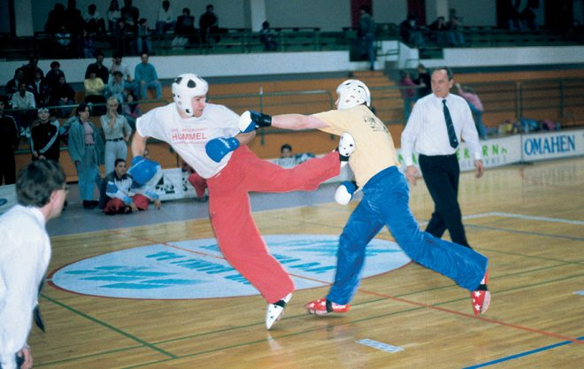 Weninger point fighting