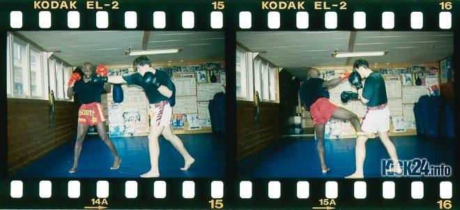 Konter gegen Boxer