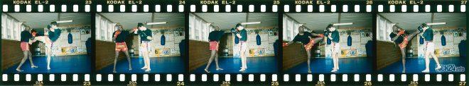 Abwehr Muay Thai Kick