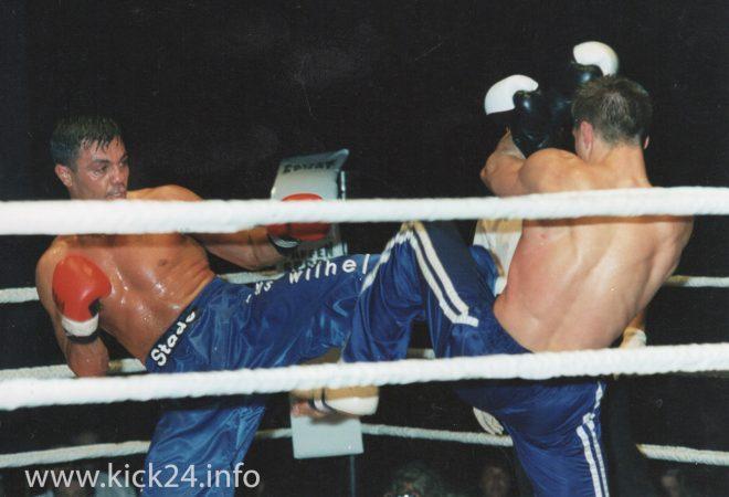 Kickbox Weltmeisterschafts Kampf